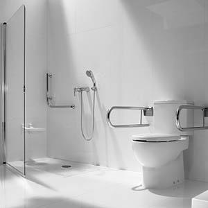 Baños para personas mayores y discapacitados en Bilbao.
